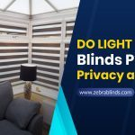 Do Light Filtering Blinds Provide Privacy at Night