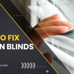 How To Fix Uneven Blinds