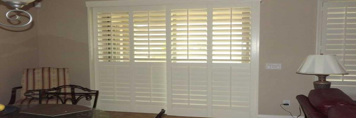 Are California Shutters Good For Sliding Patio Doors