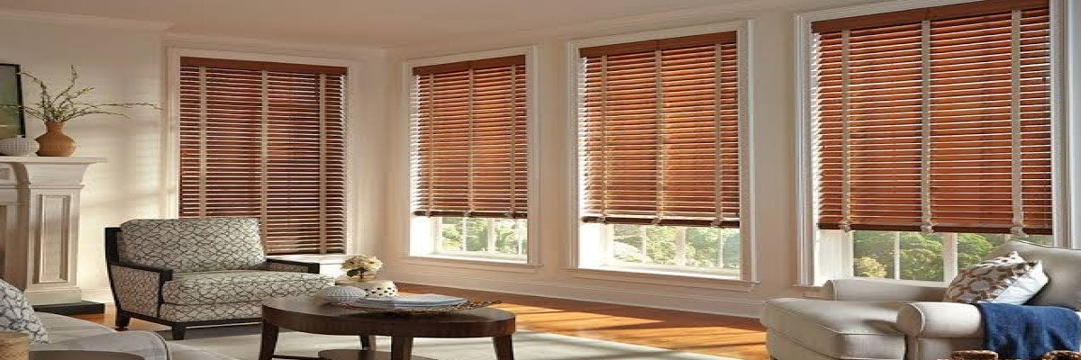 Cordless Wooden Blinds