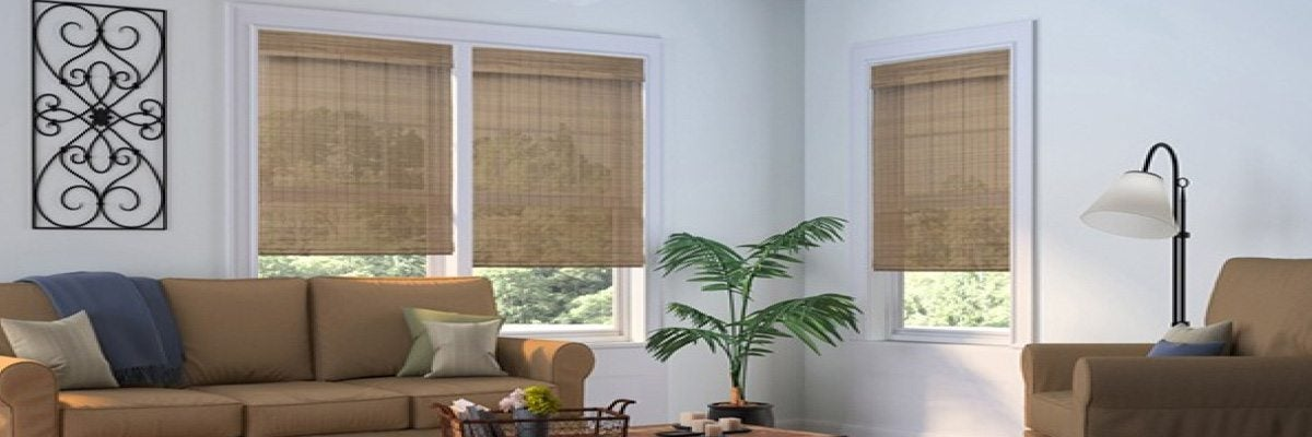 Cordless Woven Wood Blinds