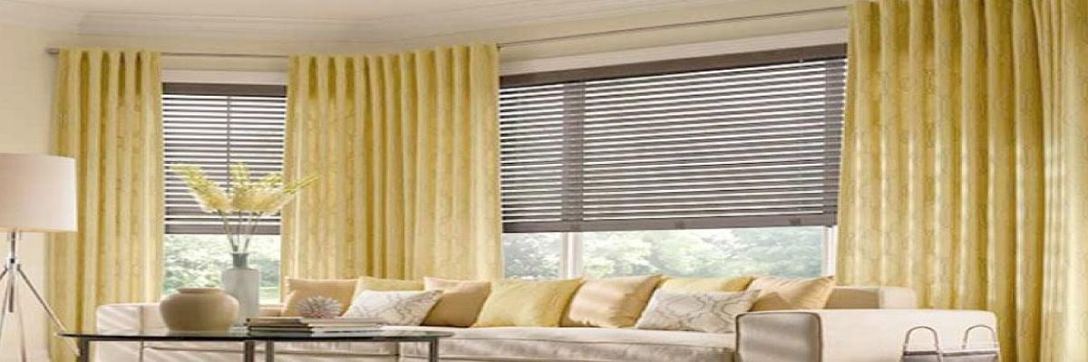 Layering Curtain Over Blinds