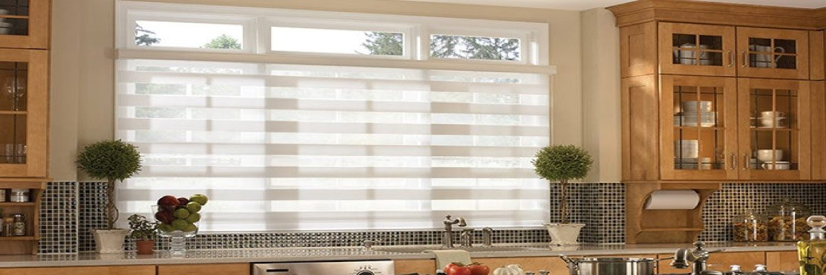 Sheer Shades for Kitchen Windows