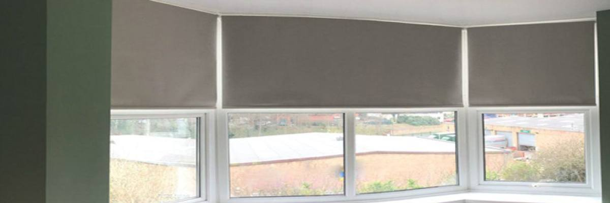 Roller Shades for Bay Window