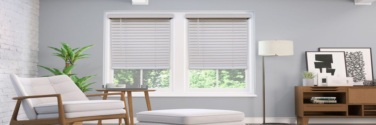 Cordless Fuax Wood Blinds