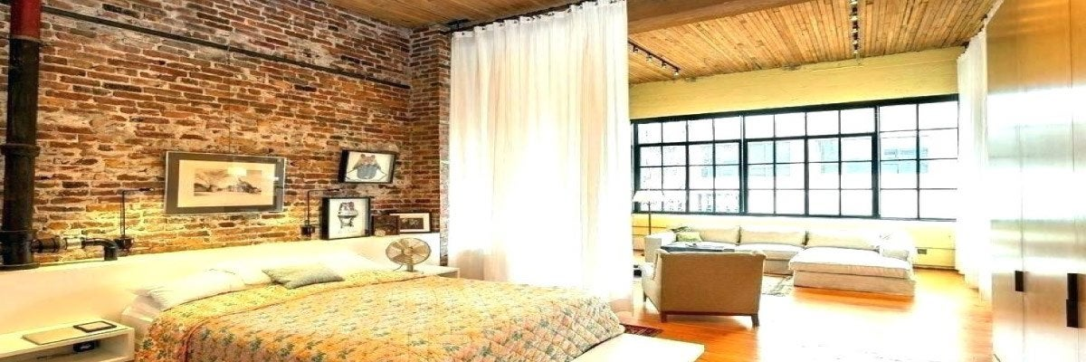 Curtains as Room Divider