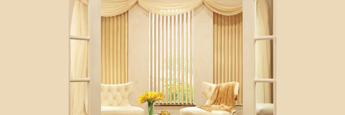 Vertical Blinds with Valances