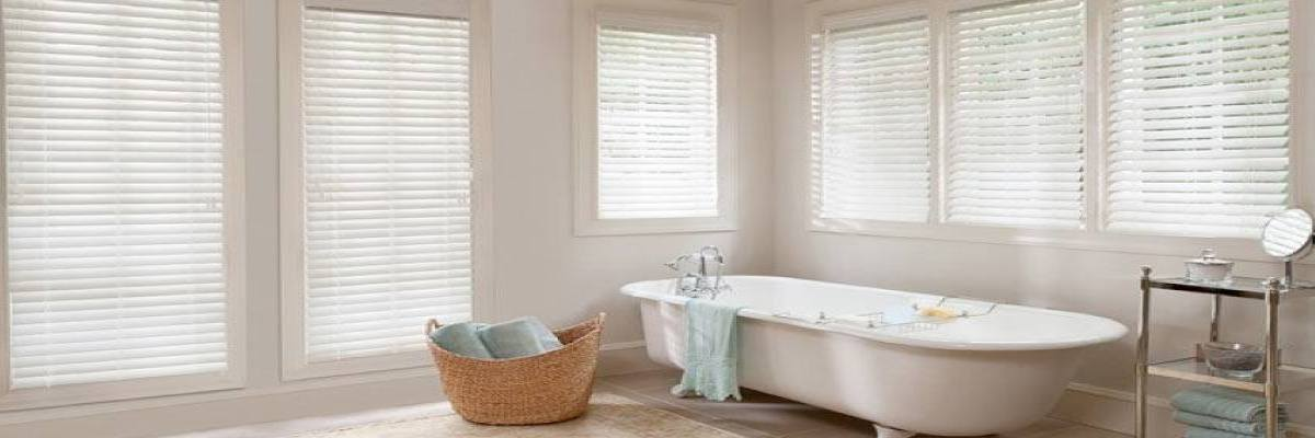 Water-Resistant Hot Tub Room Blinds