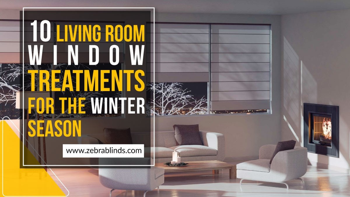10 Living Room Window Treatments for Winter