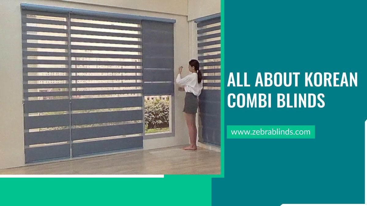 All About Korean Combi Blinds