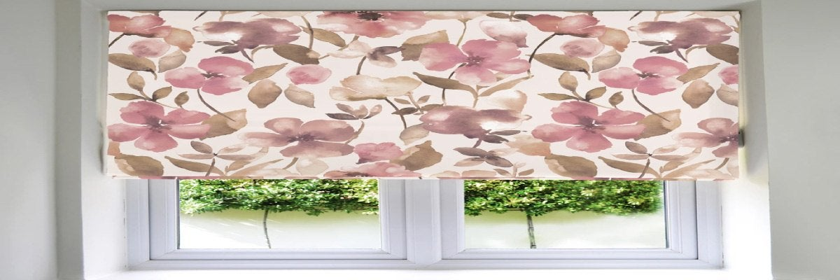 Floral Printed Window Blinds