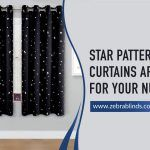 Star Pattern Curtains Are Perfect For Your Nursery