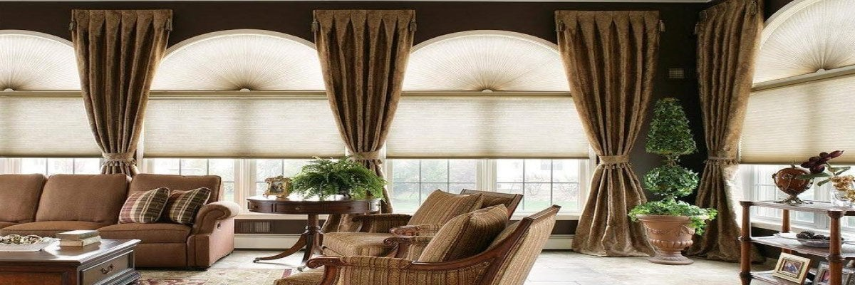 Blinds and Curtains for Semi Circular Windows