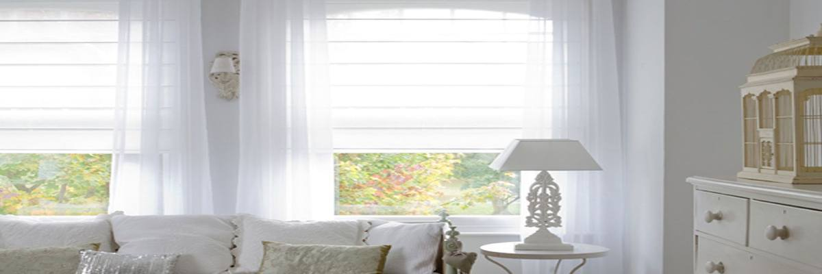 Blinds Over Sheer Curtains
