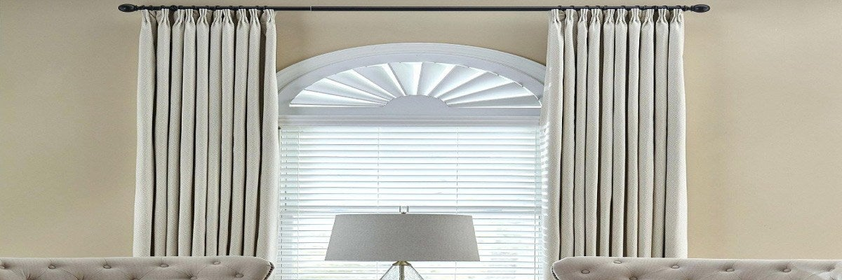 How to Cover Half Circle Windows