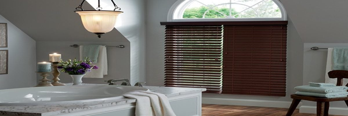 Mositure Resistant Faux Wood Blinds