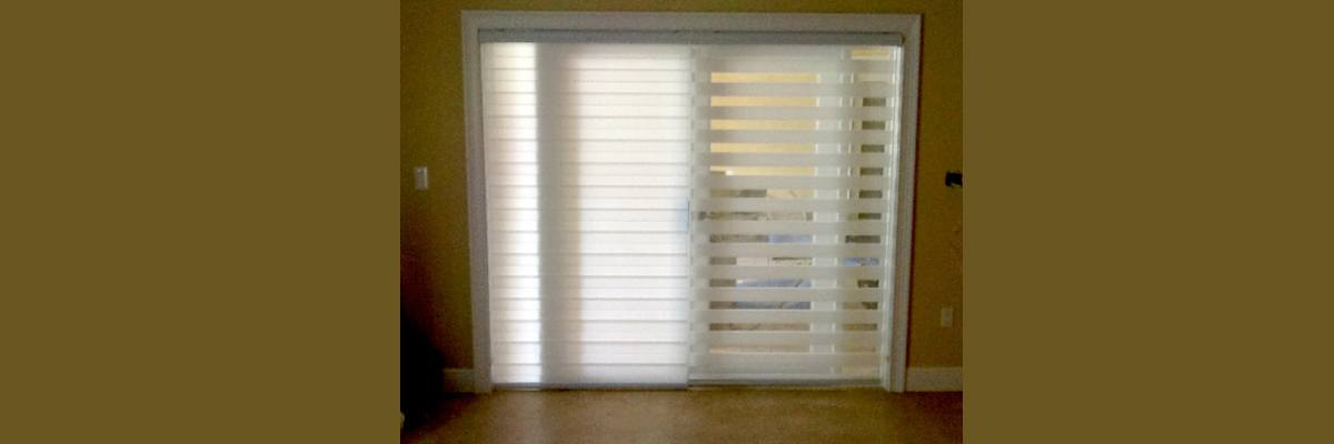 Sheer Shades for French Doors