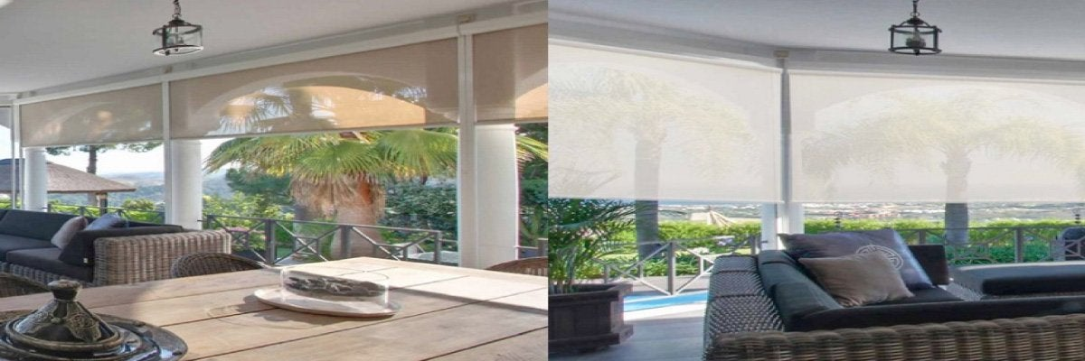 Solar Shades for Outdoor