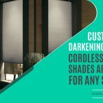 Custom Room Darkening Day Night Cordless Cellular Shades – Perfect for Any Situation