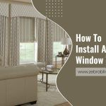 How To Install A Cornice Window Treatment