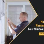 How to Remove Roman Blinds from your Window for Cleaning