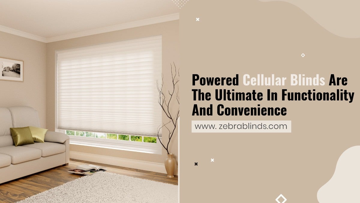 Powered Cellular Blinds