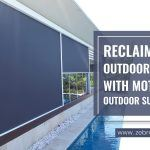 Reclaim Your Outdoor Spaces with Motorized Outdoor Sun Shades