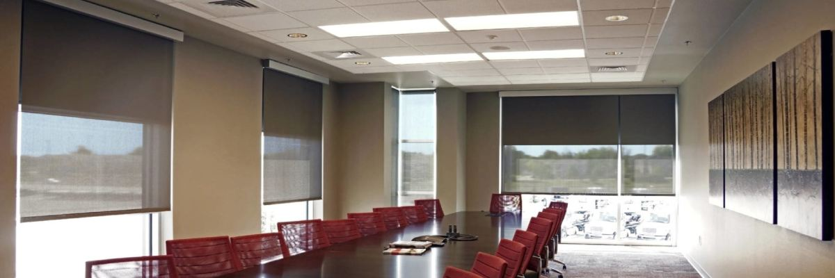 Dual Roller Shades for Hotel