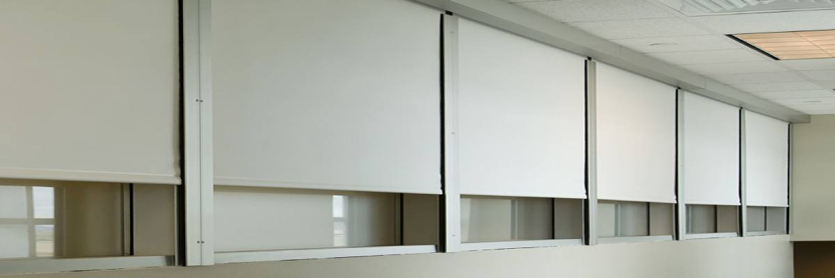 Motorized Blackout Blinds with Side Channel