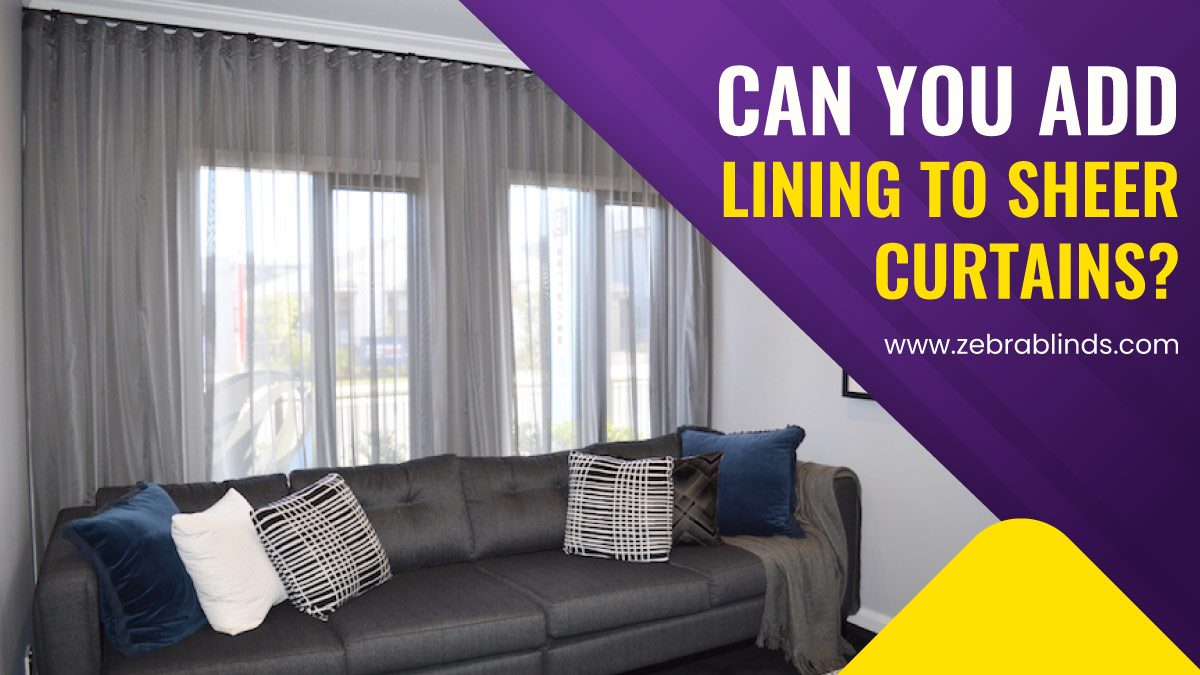 Can You Add Lining To Sheer Curtains