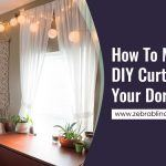 How To Make DIY Curtains For Your Dorm Room