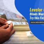 Levelor Cordless Blinds Won't Go Down? Try this Fix!