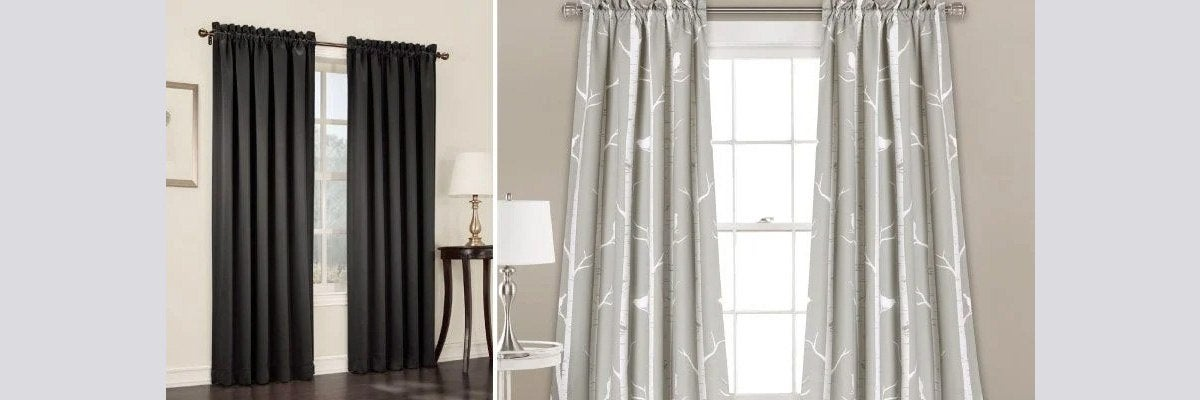 Blackout Fabric Curtains
