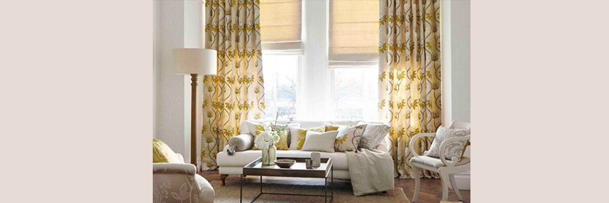 Hanging Curtain Over Blinds