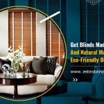 Get Blinds Made Of Real Woods And Natural Materials For An Eco-Friendly Decor