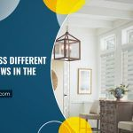 How To Dress Different Sized Windows In The Same Room