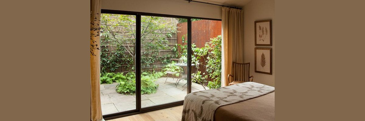 How To Decorate A Bedroom With A Sliding Glass Door