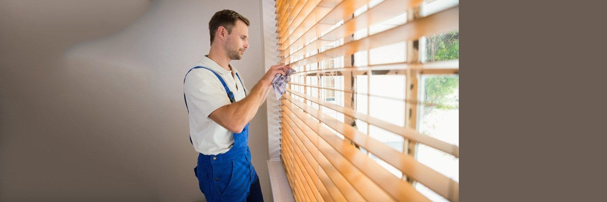 Cleaning Wooden Blinds
