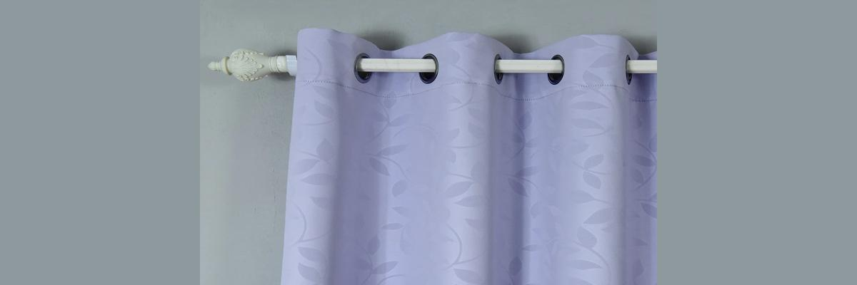 Grommet Mounted Curtains