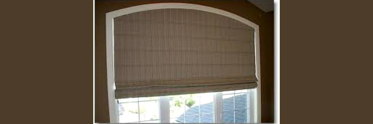 Roman Shades for Arched Windows