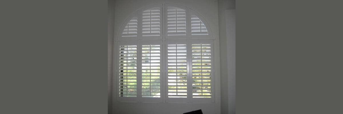 Wood Blinds for Arch Windows