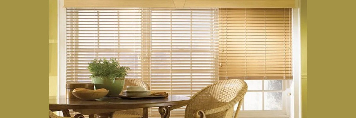 2-inch Lake Forest Graber Faux Wood Blinds