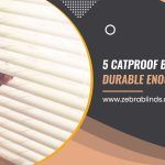 5 Cat Proof Blinds Durable Enough To Last