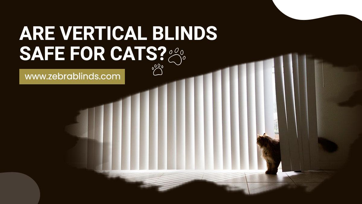 Are Vertical Blinds Safe For Cats