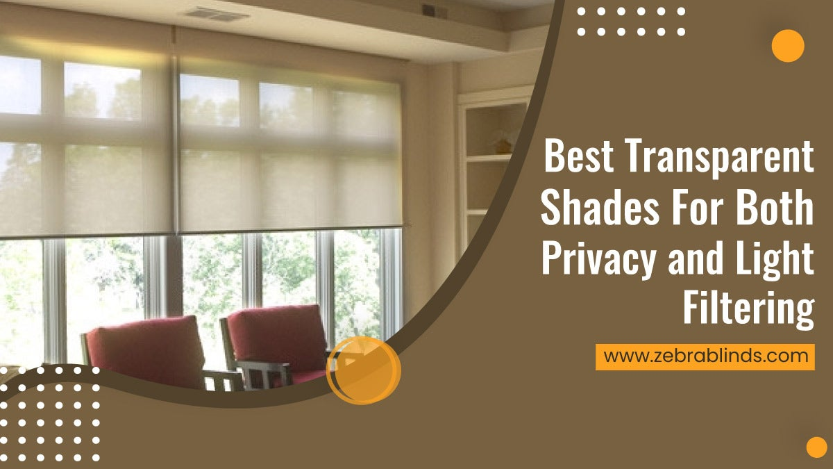 Best Transparent Shades For Both Privacy and Light Filtering