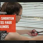 How to Shorten Cordless Faux Wood Blinds