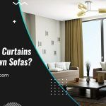 What Color Curtains Match Brown Sofas?