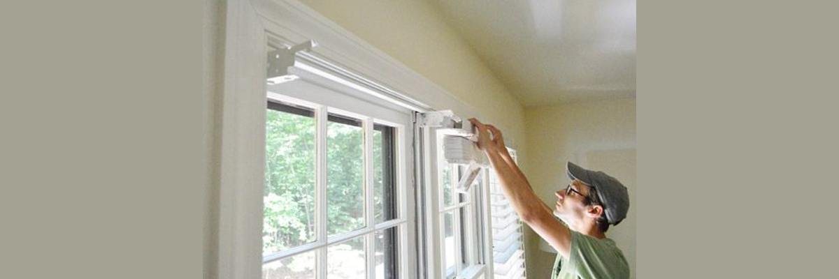 Install Faux Wood Blinds