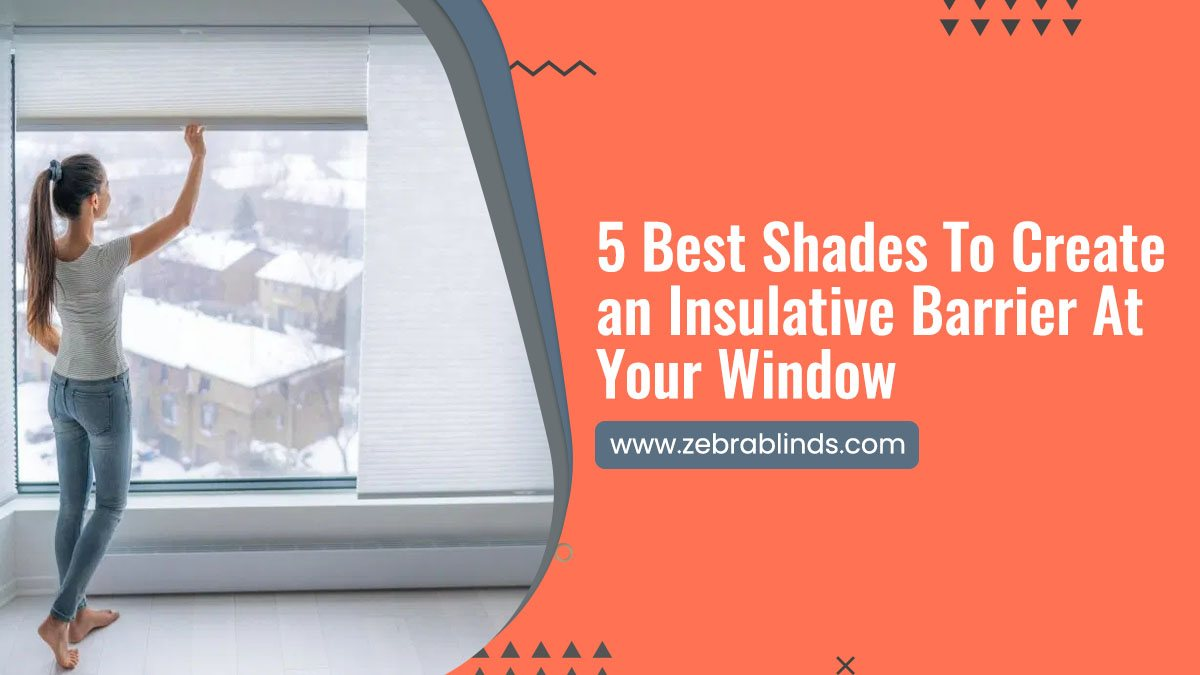 5 Best Shades To Create an Insulative Barrier At Your Window