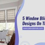 5 Window Blinds With Designs On Them